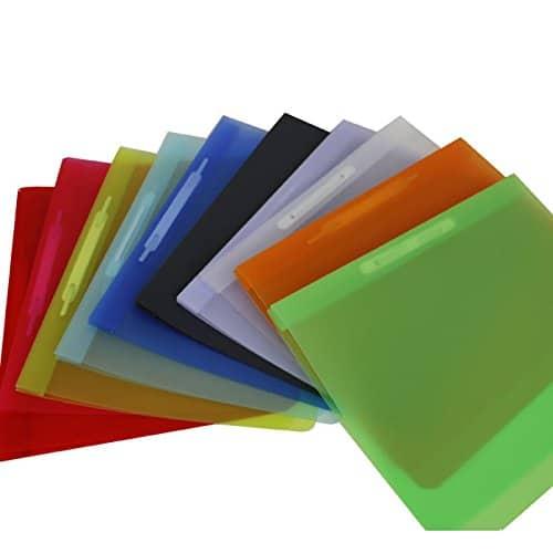 Sortiment Schnellhefter, 10 Stück in verschiedenen Farben