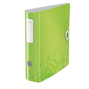 Leitz 11060064 Qualitäts-Ordner Active WOW, A4, Polyfoam, breit, grün