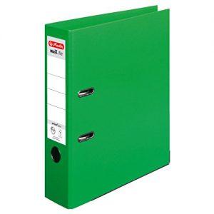 Herlitz 10834430 Ordner maX.file protect+ A4, 8 cm, hellgrün