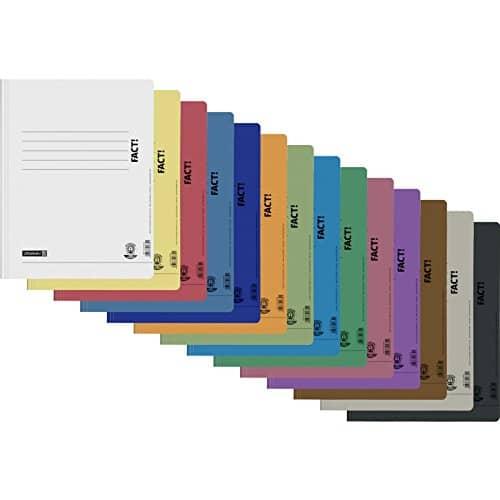 13 Schnellhefter Papphefter in 13 Farben Hefter Pappe Brunnen Fact Recycling Schule 250g