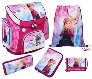 Scooli Schulranzen Set Campus Plus Disney Frozen, 5 teilig