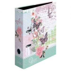 Herlitz 11233061 Ordner A4 Ladylike Butterfly maX.file, 8 cm