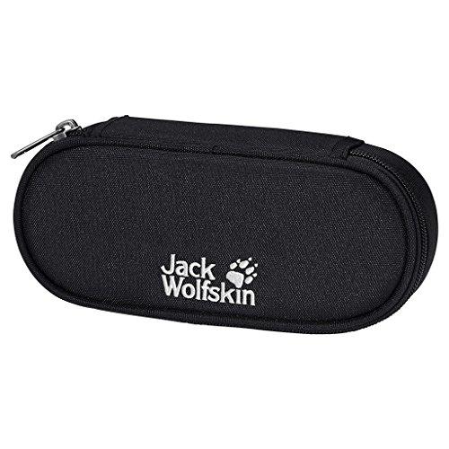Jack Wolfskin Kinder Mäppchen Pen Box, Black, 6 x 21 x 10 cm, 0.1 Liter, 8000541-6000