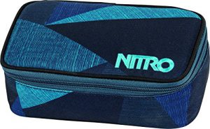 Nitro Snowboards Mäppchen Pencil Case XL, Fragments Blue, 6 x 8 x 20 cm, 1.3 Liter, 1161878043